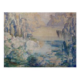 swan湖 ポストカード