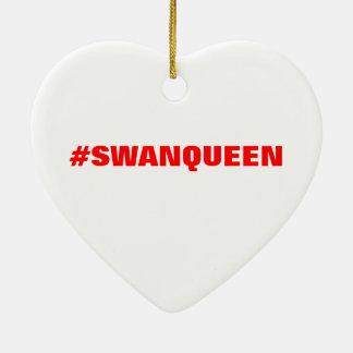 #SWANQUEENのオーナメント セラミックオーナメント