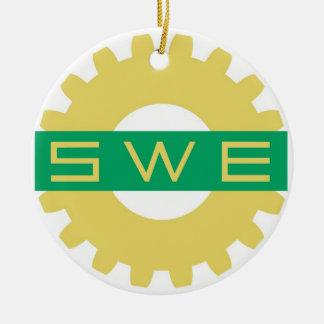SWE (女性エンジニアの社会)のオーナメント セラミックオーナメント