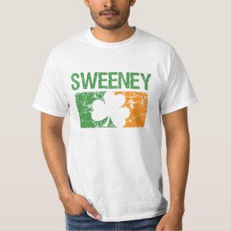 Sweeneyの姓のクローバー Tシャツ