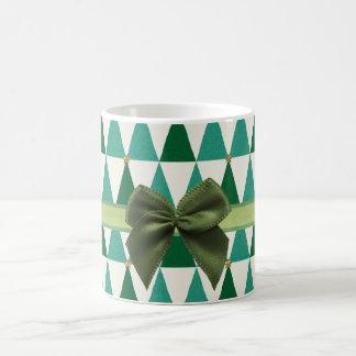 Sweet Green Sparkle Christmas Mug コーヒーマグカップ