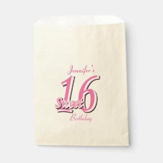 Sweet sixteenの誕生日|のピンク フェイバーバッグ