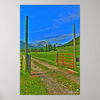 Sweetgrassへの歓迎 ポスター