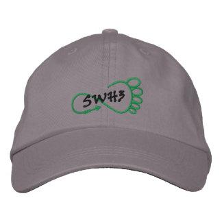 SWH3心地よい帽子 刺繍入りキャップ