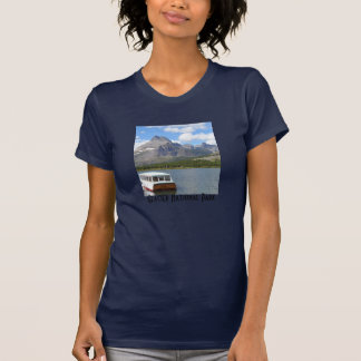 Swiftcurrent湖-グレーシャー国立公園 Tシャツ