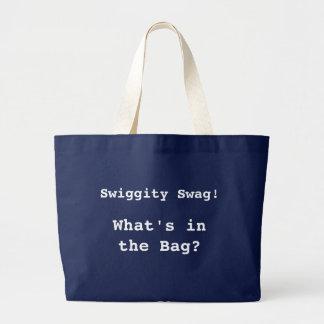 Swiggityのスワッグのバッグ ラージトートバッグ