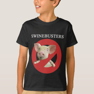 Swinebustersの暗い青年Tシャツ Tシャツ