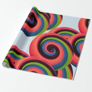 Swirl Candy ラッピングペーパー