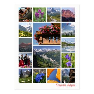 Swiss Alps multi-image 2 ポストカード