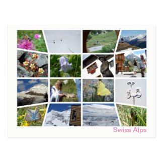 Swiss Alps multi-image 4 ポストカード