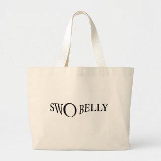 Swoの腹ティー ラージトートバッグ