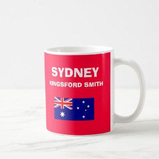 SYDNEY*空港SYDコードマグ コーヒーマグカップ