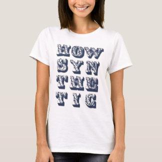SYN Ticの女性いかに Tシャツ