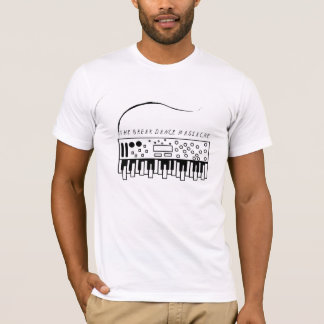 Synthのピアノ(Kyle Tetro著デザイン) Tシャツ