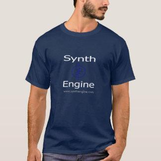 SynthエンジンのTシャツ(青い) Tシャツ