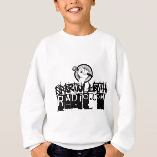 SYRのグランジなロゴ スウェットシャツ
