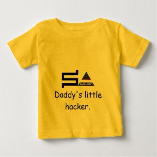 sysadminのロゴはそれをカスタマイズ ベビーTシャツ