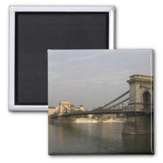SzechenyiのlanchidのSzechenyiの鎖式吊り橋)、2 マグネット