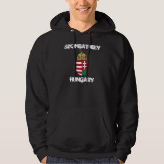 Szombathely、紋章付き外衣が付いているハンガリー パーカ