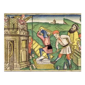 tからのバベルの塔を、造る起源11 1-9 ポストカード