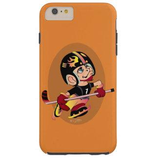 Tとホッケー選手の漫画のiPhone 6/6s Tough iPhone 6 Plus ケース