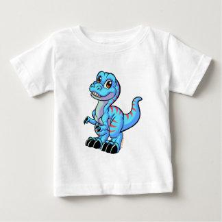 Tのレックスの漫画 ベビーTシャツ