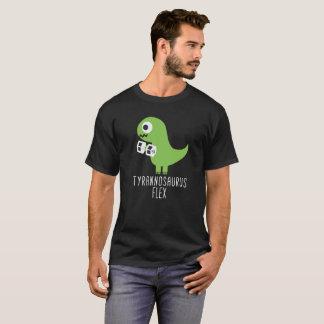 TのレックスのTシャツのティラノサウルス・レックスの屈曲 Tシャツ