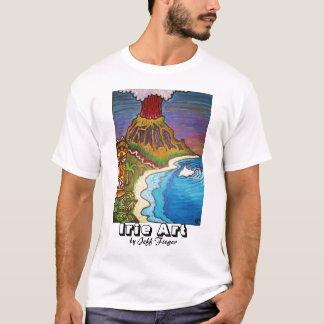 TのワイシャツのIrie Tikiの島 Tシャツ