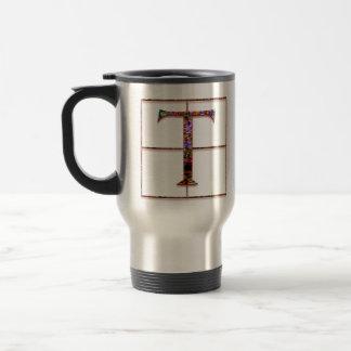 """Tの""""ケルト族の煉瓦""""カスタムなモノグラムのマグ トラベルマグ"""