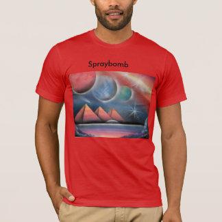 tのshurtsのスプレー式塗料の芸術 tシャツ
