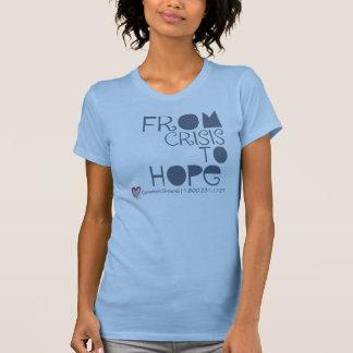 Tを望む危機から淡いブルー Tシャツ