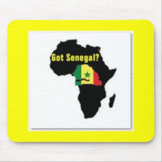 Tシャツおよび等セネガルの紋章付き外衣 マウスパッド