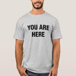 Tシャツここにいます Tシャツ