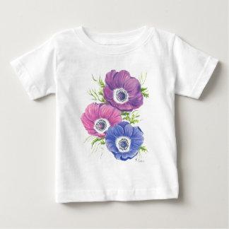 Tシャツのアネモネ ベビーTシャツ