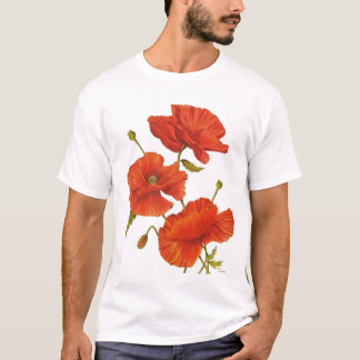 Tシャツのケシ Tシャツ