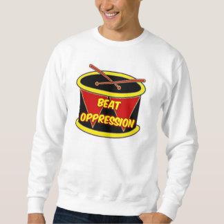 Tシャツのビートの圧迫 スウェットシャツ