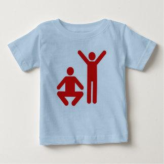 Tシャツの上下 ベビーTシャツ