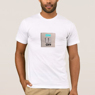 Tシャツの予測できなく、珍しいスイッチ Tシャツ