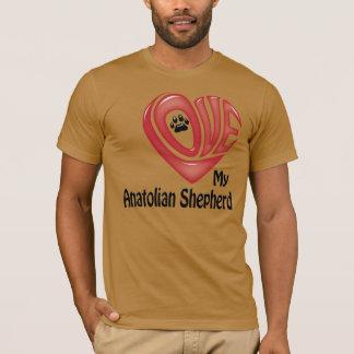 Tシャツの人の愛私のAnatolian羊飼い Tシャツ