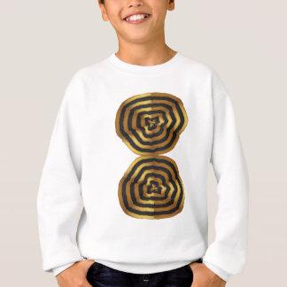 Tシャツの挨拶のステッカーの金波のポッドのギフト スウェットシャツ