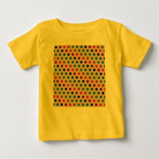 Tシャツの水玉模様 ベビーTシャツ