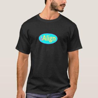 Tシャツの直線 Tシャツ