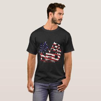 Tシャツの組織のアメリカのレースカー Tシャツ