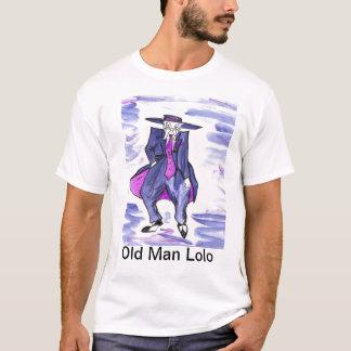 Tシャツの老人Lolo Tシャツ