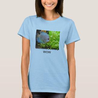 Tシャツの魚! ooooooooooOOOOOOOOOO WOW Tシャツ