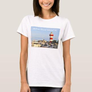 TシャツのHilton Head Islandの灯台 Tシャツ