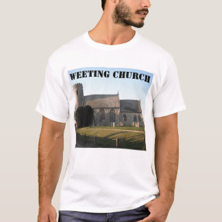 TシャツのWeeting教会Weetingノーフォークイギリス Tシャツ