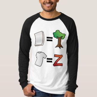 TシャツはZazzle.に匹敵します Tシャツ