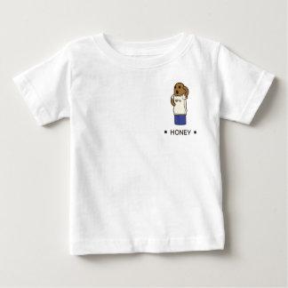 【Tシャツを着たハニワ】 Haniwa wearing a T-shirt ベビーTシャツ
