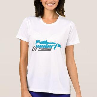 Tシャツを競争させる女性の短い袖Wolert Tシャツ